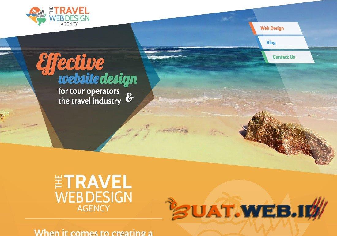 Jasa Buat Website Travel Murah