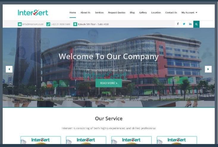 Website Intersert