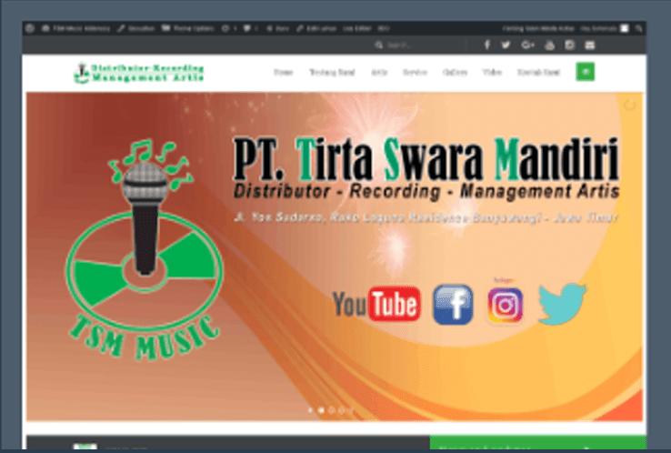 Website TSM MUSIC