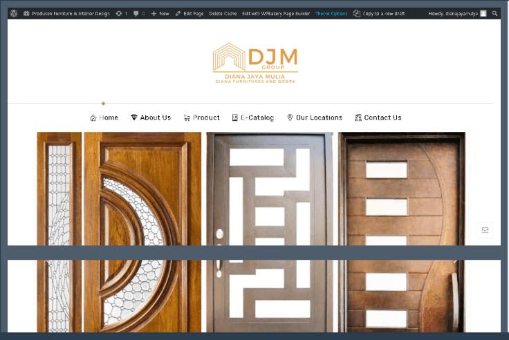 Website Diana Furniture