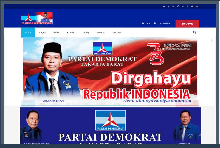 Website H. RUSTAM EFENDI S.PD., MM
