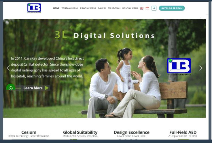 Website Distributor CareRaye & Roesys Indonesia