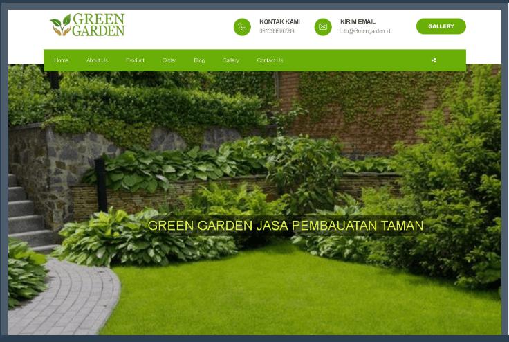Website Jasa Pemesangan Kebun dan Pembuatan Taman