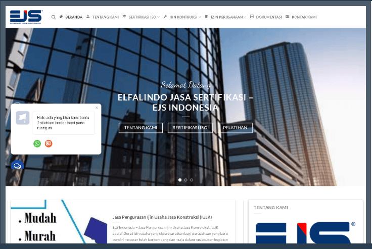 Website Jasa Pengurusan Perizina Perusahaan
