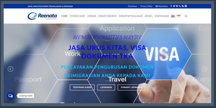 Jasa Pengurusan Dokumen TKA & Imigrasi, Kitas, Visa, Imta