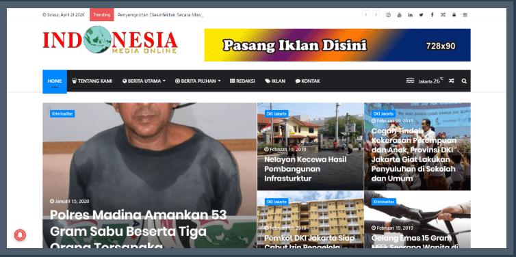 Indonesia Media Online - Portal Berita Terpudate & Terpercaya
