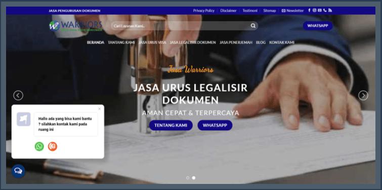 Jasa Urus Dokumen Legalisir Visa Ke Semua Negara, Jasa Penerjemah Tersumpah