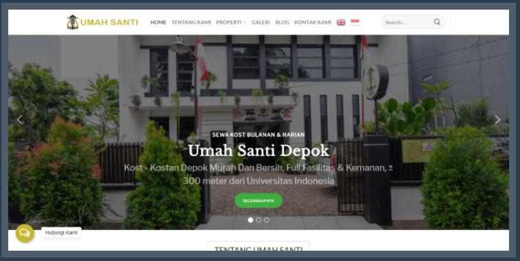 Umahsanti.com - Sewa Kost Depok, Bungin Bali & Padawa Bali