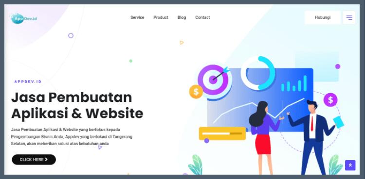 Jasa Pembuatan Website & Aplikasi Appdev.id