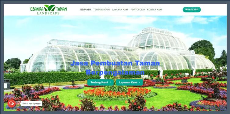 Jasa Pembuatan Taman - Dzakira Taman Landscape (Dzakirataman.com)